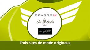"""Experience client et collants verts""  Trois sites de mode originaux #Devred #TwoSocks #ColetteMalouf"