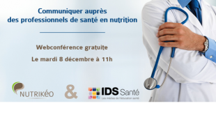 Communiquer auprès des professionnels de santé en nutrition