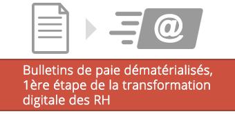 Bulletins de paie dématérialisés, 1ère étape de la transformation digitale des RH