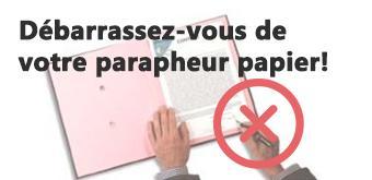 Facilitez vous la vie avec le parapheur électronique !