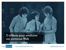 Réécriture de contenus Web: 3 réflexes pour réduire les taux de rebond