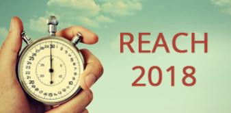 Les clés pour préparer son Enregistrement REACH 2018