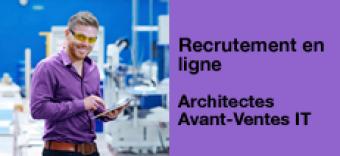 Recrutement en ligne : rejoignez l'équipe d'Architectes Avant-Ventes IT Orange Cloud for Business et Neocles