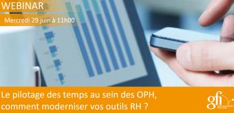 Résultats de l'étude de marché RH Gfi - La Gestion des Temps au sein des OPH