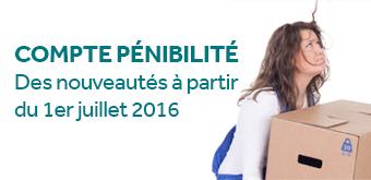 Le Compte Prévention Pénibilité : ce qui change au 1er Juillet 2016