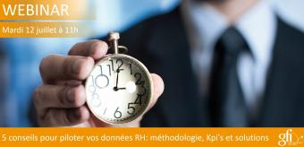5 conseils pour piloter vos données RH : méthodologie, Kpi's et solutions