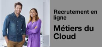 Recrutement en ligne : votre prochain job chez Orange dans le cloud et le Big Data