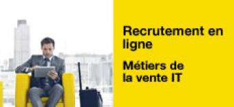 Recrutement en ligne : rejoignez l'équipe de vente IT Orange Cloud for Business