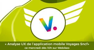 Analyse ergonomique & UX de l'application mobile : Voyages SNCF