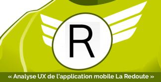 Analyse ergonomique & UX de l'application mobile : La Redoute