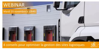 4 conseils pour optimiser la gestion des sites logistiques