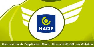 Améliorer l'UX de votre application mobile : user test live avec l'application Macif