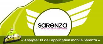 Améliorer l'UX de votre application mobile : user test live avec l'application Sarenza