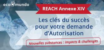 12 nouvelles substances en Annexe XIV de REACH : les clés du succès pour votre demande d'Autorisation