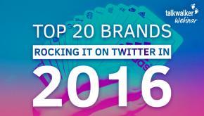 Dior, Nike, Mc Donald's, Apple : quelle stratégie sur Twitter en 2016 ?
