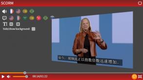 Formez et communiquez en vidéo accessibles et multilingues