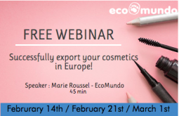 FREE: How to successfully export your cosmetics in Europe? Special Australia