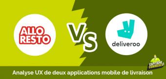 UX APP BATTLE ➡ Allo Resto VS Deliveroo
