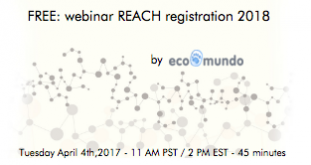 FREE webinar on the EU REACH Regulation