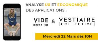 UX MOBILE : Vide Dressing VS Vestiaire Collective ➡️  Quelle appli est la plus ergonomique ?