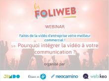 La vidéo d'entreprise 1/3 : Pourquoi intégrer la vidéo à votre communication?
