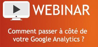 Comment passer à côté de votre Google Analytics ?