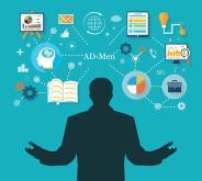 L'intégration de l'information dans AD-Men