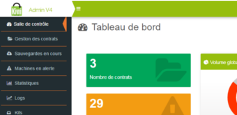 Kiwi Backup V4 : présentation nouvelle interface admin