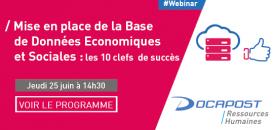 Mise en place de la Base de Données Economiques et Sociales : les 10 clés de succés