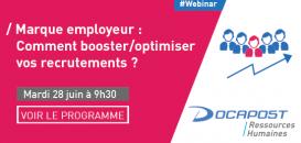 Marque employeur : comment booster/optimiser vos recrutements ?