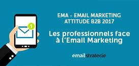 EMA – Email Marketing Attitude BtoB 2017 : les professionnels face à l'email marketing