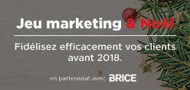 Jeu marketing et fête de Noël, fidélisez efficacement vos clients avant 2018.