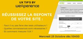 ⚡ UX TIPS by Wexperience : Réussissez la refonte de votre site