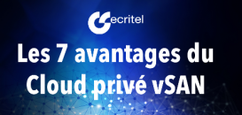 Paroles d'experts : les 7 avantages du Cloud privé VSAN
