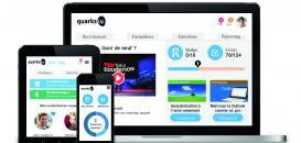 Venez découvrir quarks'Up : la solution e-RH idéale pour les PME !