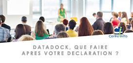 Datadock : que faire après votre déclaration ?