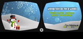 Les animations marketing de fin d'année : opérations ludiques, buzz marketing, réalité virtuelle et augmentée