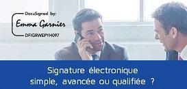 Signature simple, avancée, qualifiée : quel type de signature électronique pour quel document ?
