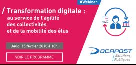 Transformation digitale : au service de l'agilité des collectivités et de la mobilité des élus