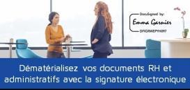 Dématérialisez vos documents RH et administratifs avec la signature électronique
