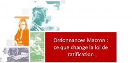 Ordonnances Macron : ce que change la loi de ratification