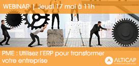 PME, utilisez l'ERP pour transformer votre entreprise !
