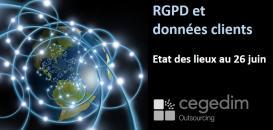 RGPD et données clients - Etat des lieux 1 mois après le 25 mai