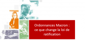 Ordonnances Macron : ce que change la loi de ratification