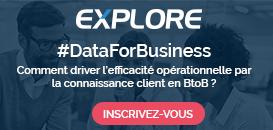 Data for Business :  comment driver l'efficacité opérationnelle par la connaissance client en BtoB ?