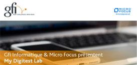 Workshop My Digitest Lab Gfi et Micro Focus