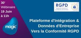 RGPD : Retrouver, Contrôler, Masquer ou Transférer... Avez-vous pensé Plateforme d'intégration pour vos Data ?
