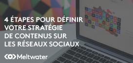 Réseaux sociaux : 4 étapes pour une stratégie de contenus efficace