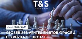 Closer ses ventes en BtoB grâce à l'expérience digitale