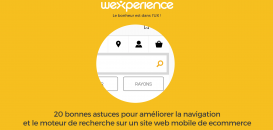 20 astuces pour améliorer la navigation et le moteur de recherche sur un site web mobile